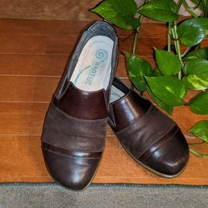 Naot Miro Brown Leather Slip-On 37